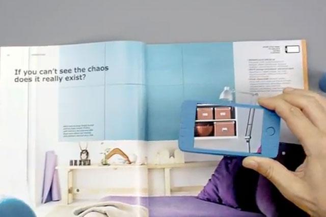 Ikea: latest catalogue incoporates interactive content