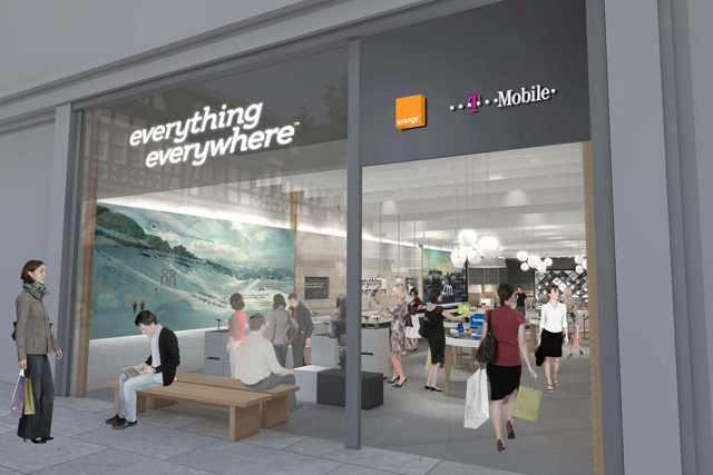 Everything Everywhere: first consumer ad campaign
