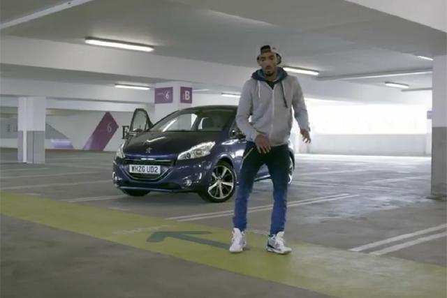 Peugeot's 208 push featuring YouTube sensation dancer Marquese Scott