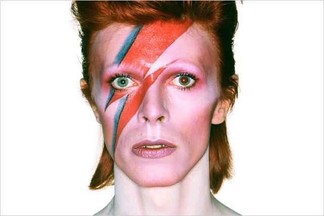 David Bowie: cover artwork for Aladdin Sane