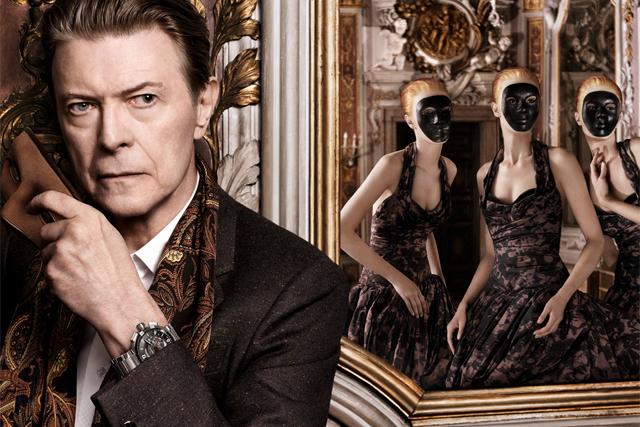 David Bowie serenades model in fantastical Louis Vuitton film