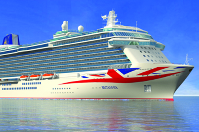 Britannia rules the waves with patriotic P&O Cruises rebrand
