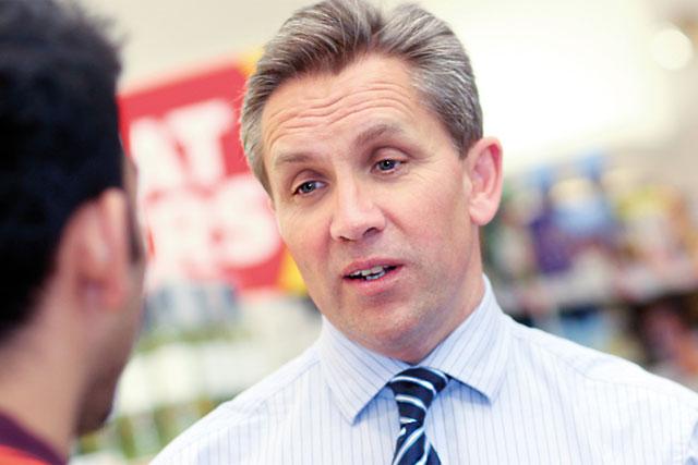 Justin King: chief executive, Sainsbury's