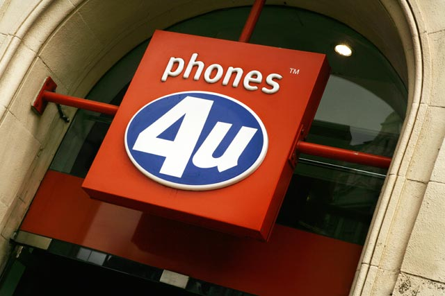 Phones4U: sold to equity house BC Partners