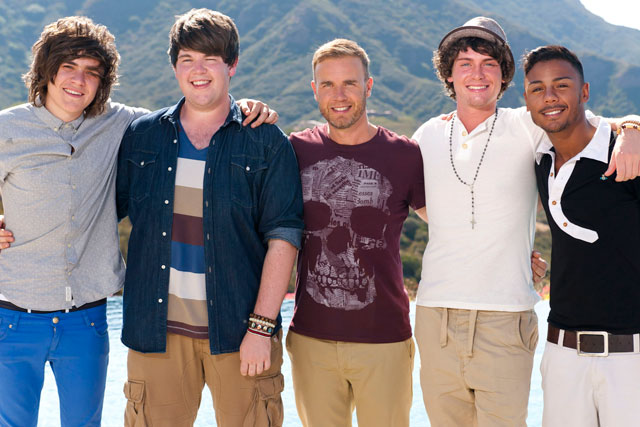 The X Factor: Gary Barlow and his chosen boys