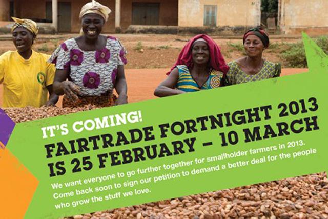 Fairtrade Fortnight: looking for 'deeper' understanding