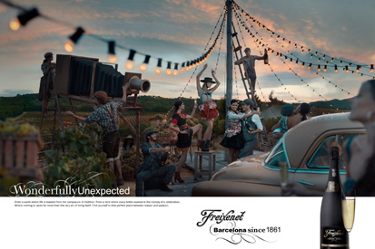 Freixenet returns to its Barcelona roots for global ad campaign