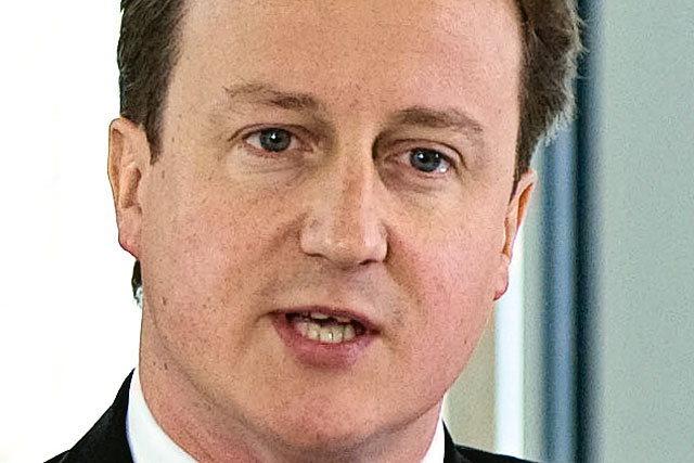 David Cameron: endorses iinvestment partnership with Tech City