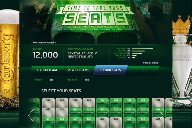 Carlsberg: unveils data-powered fan site