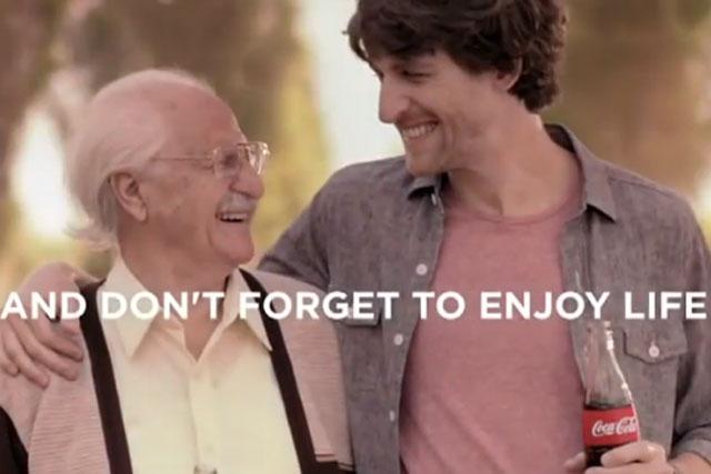 Coca-Cola: 'live like grandpa' TV campaign