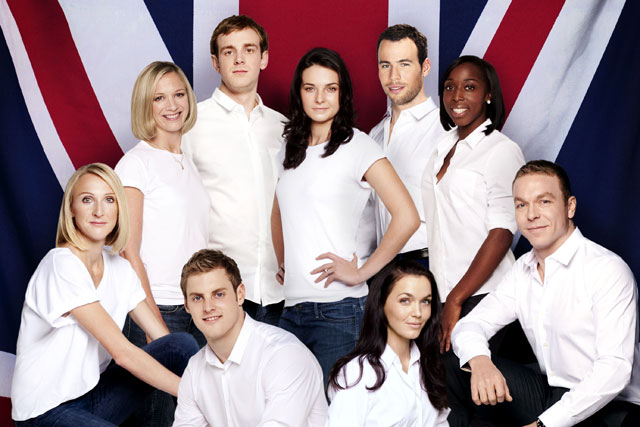 Procter & Gamble: some of the British athletes who will act as P&G brand ambassadors