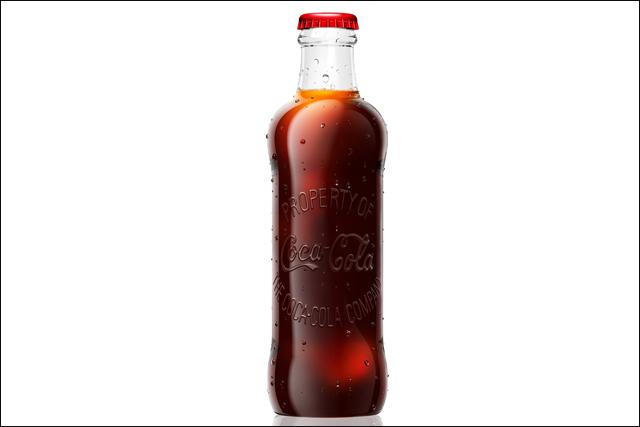 Coca-Cola: special 125th anniversary bottle