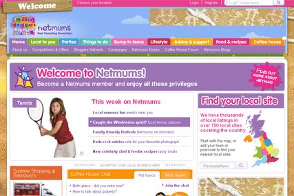 Netmums launches Parent Blogging Network