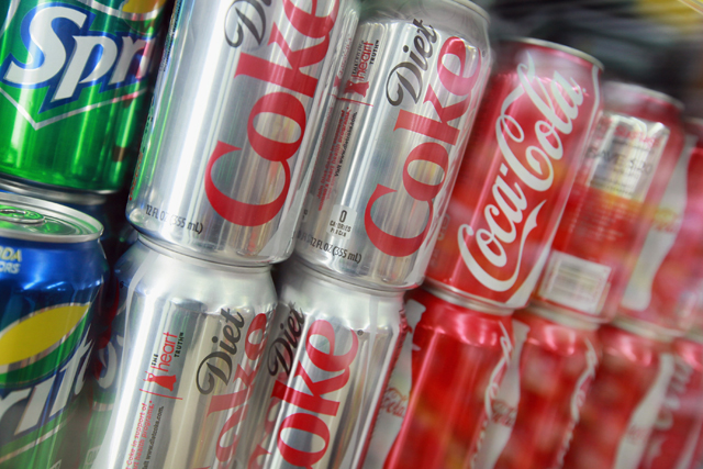 Soft  drinks: industry under fire from lobbyists