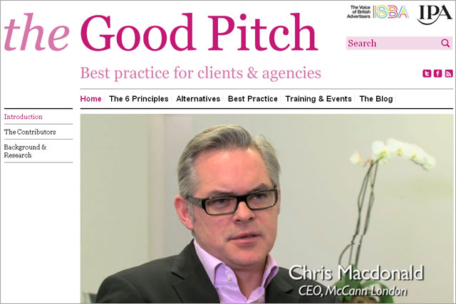 The Good Pitch: ISBA and IPA collaboration