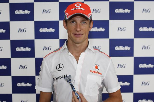 P&G: brand ambassador Jenson Button
