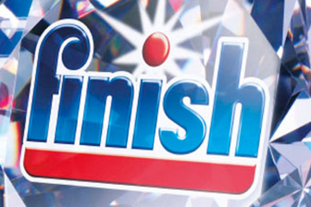 Finish is currently a leading brand in the dishwashing detergents sector