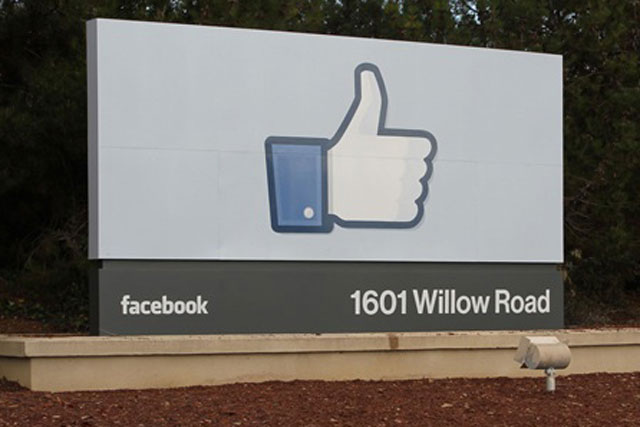 Facebook: the social networking service's headquarters at Menlo Park in California