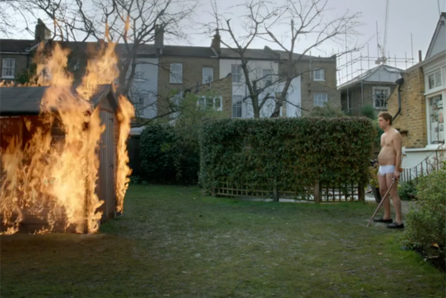 Attempt to conquer the Guardian weekend ends up with the shed on fire
