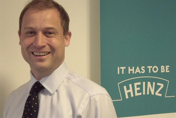 Giles Jepson: promoted to vice-president marketing for Heinz Europe