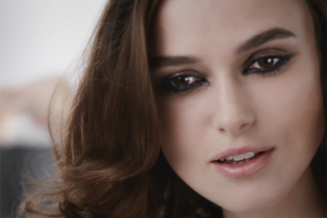 Elusive Keira Knightley packs a punch in Chanel perfume ad