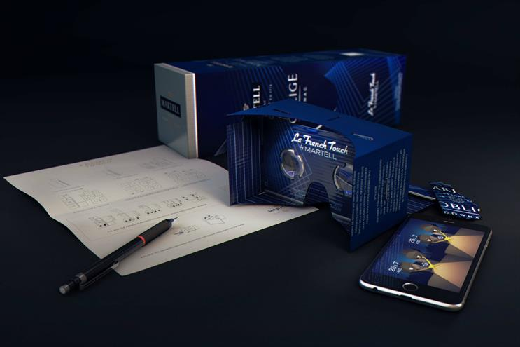 Marvel's packaging turns into a VR headset