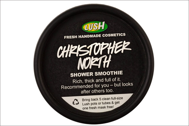 Lush: lampoons Amazon UK MD with Christopher North shower gel