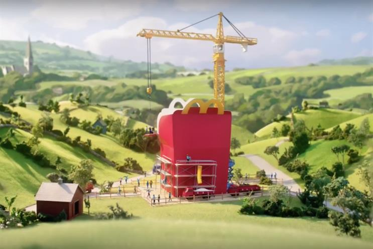 McDonald's ad tries to persuade parents that Happy Meals are now healthier