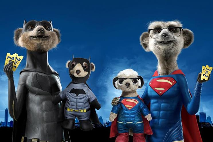 Aleksandr as Batman and Sergei as Superman