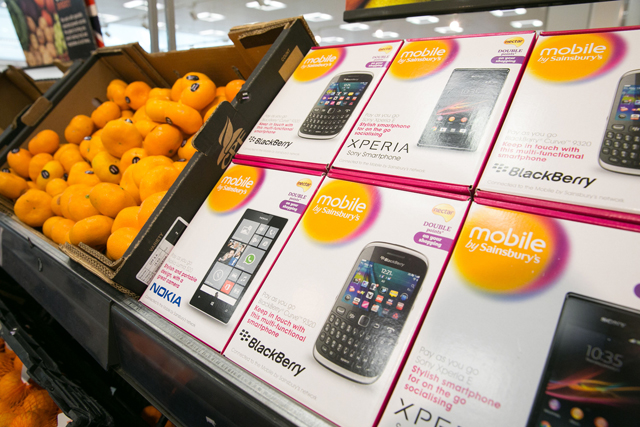 Sainsbury's and Vodafone: join to launch Mobile by Sainsbury's venture