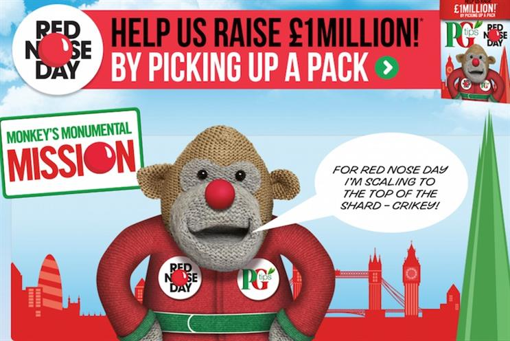 Monkey: plans to climb The Shard for Comic Relief