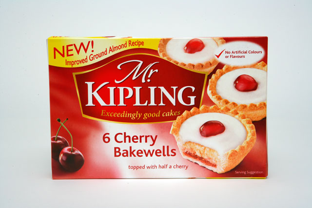 Mr Kipling: set to drop the 'exceedingly good cakes' strapline (photo: Colin Stout)