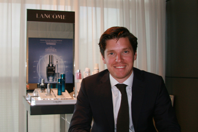 Nico Holmes, Lancôme Group Brand Manager at L'Oreal UK & Ireland