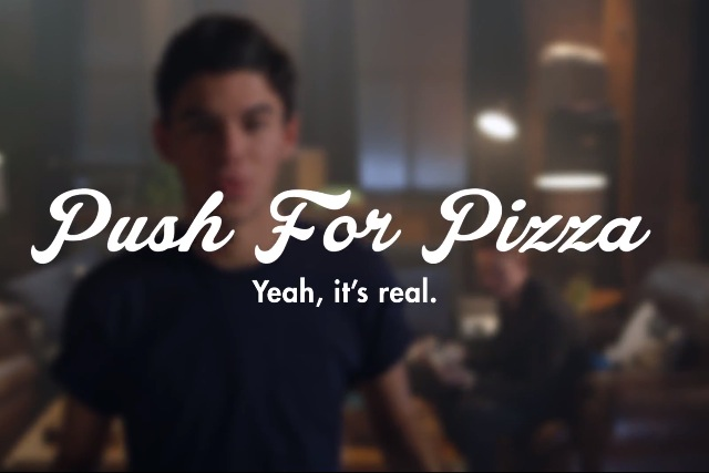 Push For Pizza: the app that lets hungry consumers push a button and pizza arrives