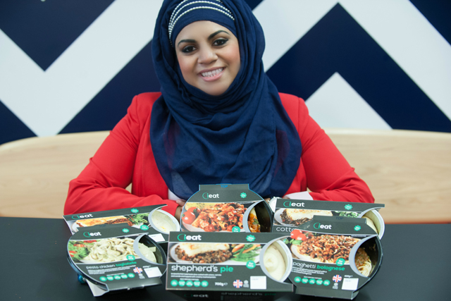 Shazia Saleem: founder of halal-ready meal start-up ieat