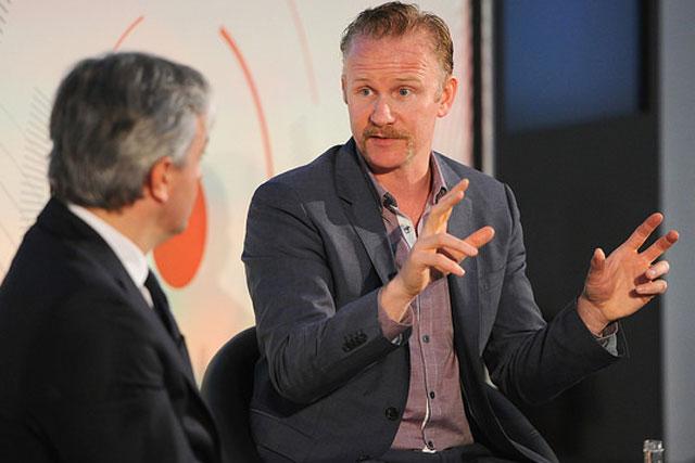 Morgan Spurlock: in session at Advertising Week Europe