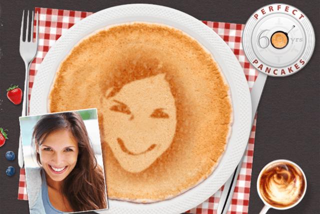 Tefal's Shrove Tuesday #PancakeSelfie app