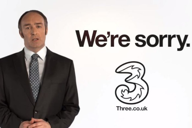 Three: #holidayspam spoof apology campaign