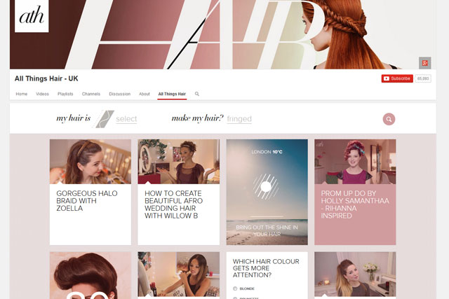 All Things Hair: Unilever channel on YouTube