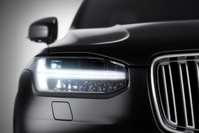 Volvo XC90: the T-shaped running lights dubbed 'Thor's Hammer'
