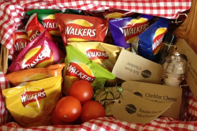 Walkers: to launch online game promoting its British-sourced ingredients
