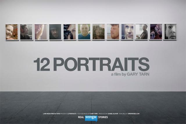 Wonga: commissions '12 Portraits'