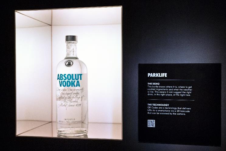 Absolut: exploring the Internet of Things