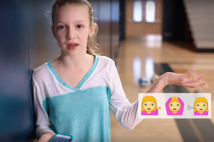 Always: latest 'Like A Girl' spot tackles sexist emojis
