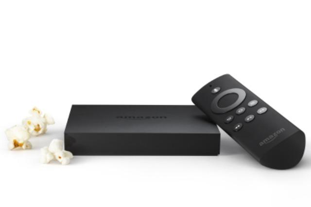 Amazon's new set-top box, Fire TV