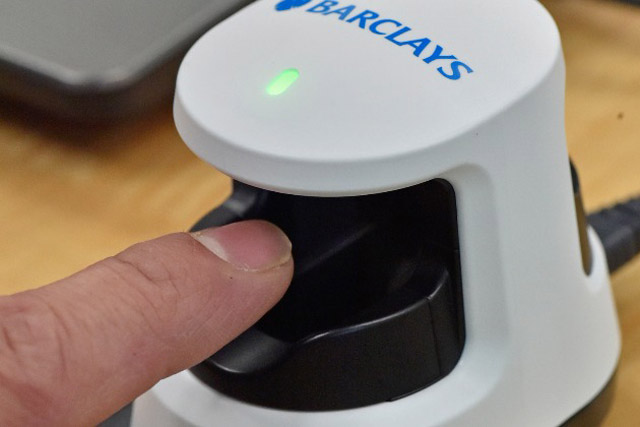 Barclays: ditching the PIN in favour of finger-vein scanners