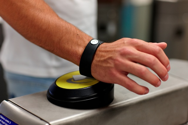 Barclays: has launched a wearable payment band as TFL rolls out contactless across entire network