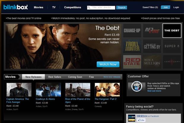 Blinkbox: TalkTalk set to rebrand movie service