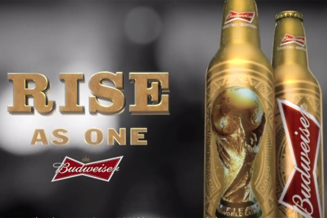 Budweiser: official beer of the FIFA World Cup
