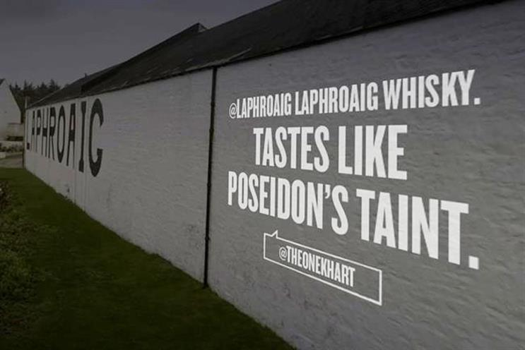 Laphroaig: celebrates 200th anniversary with Twitter campaign